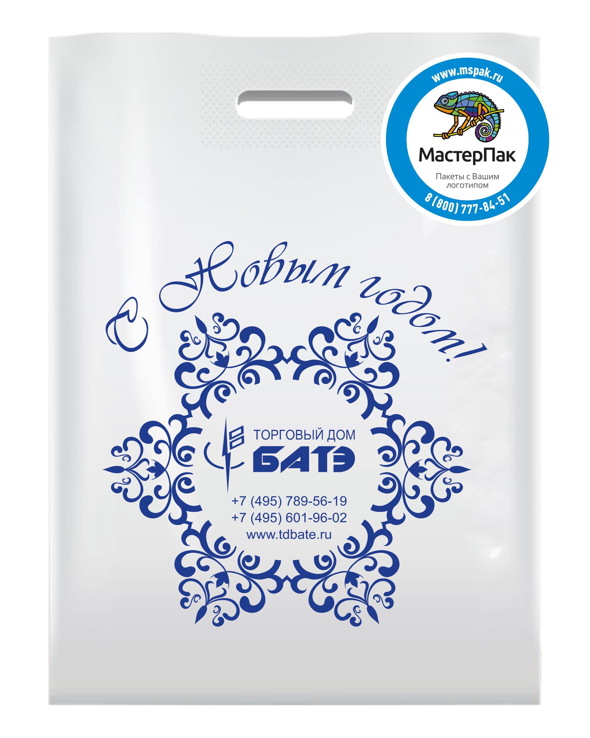 Пакет ПВД с логотипом ТД Батэ, Москва