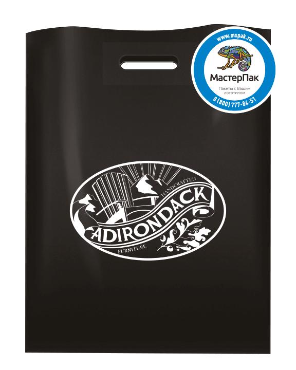 Пакет из ПВД 70 мкм с нанесением бренда производителя садовой мебели ADIRONDAC