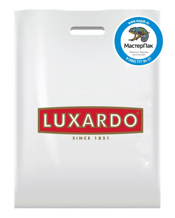 Пакет с логотипом производителя алкогольной продукции LUXARDO