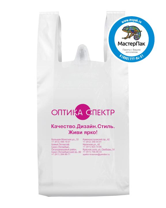 "Пакет-майка для ""Оптика Спектр"", Санкт-Петербург"