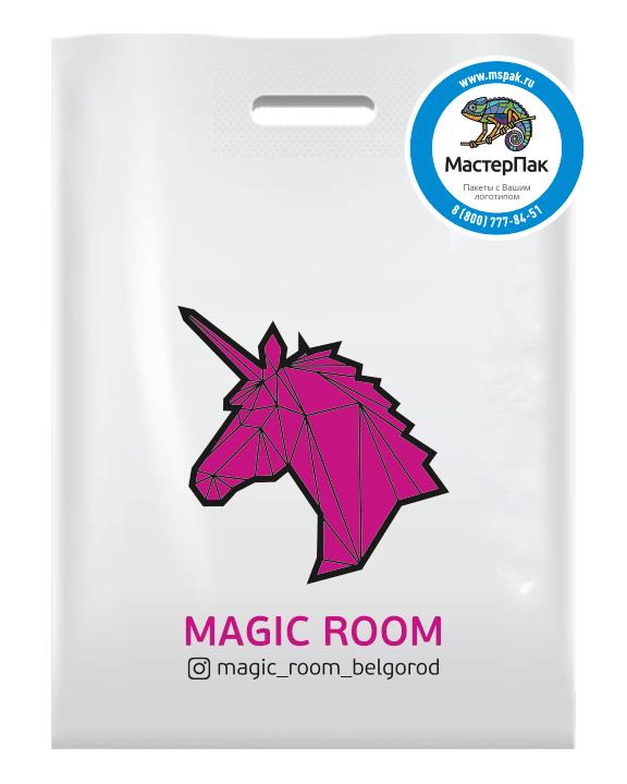 Брендовый  ПВД пакет для магазина одежды Magic Room, Белгород
