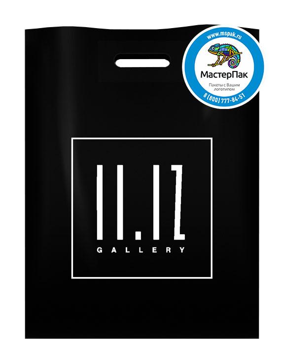 ПВД пакет, 30*40, толщина 70 мкм, с вырубной ручкой и логотипом 11.12 Gallery