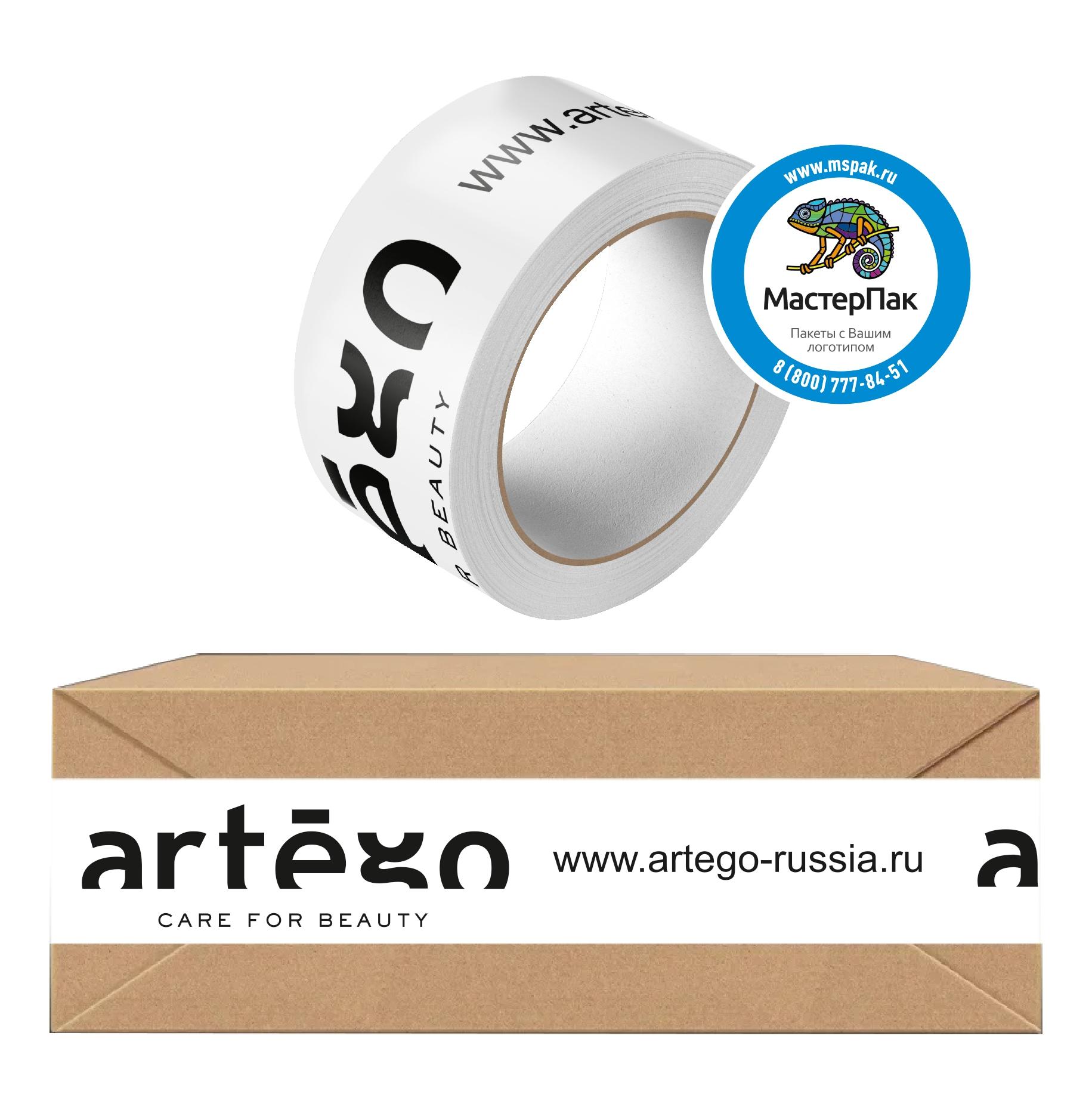 Скотч с логотипомARTEGO, 50 метров, 45 мкм, Москва